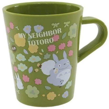 Mug Cup - 330ml - Polypropylene - dishwasher & microwave - made in Japan - Totoro - 2015 (new)