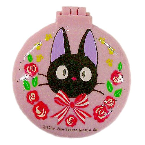 Compact Mirror & Brush - Jiji - Kiki's Delivery Service - Ghibli - 2015 (new)