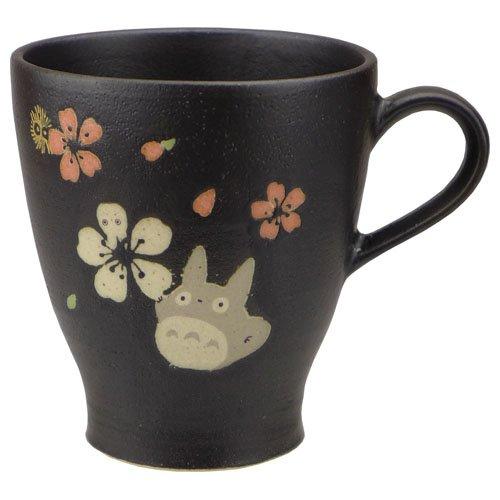 Mug Cup - 260cc - Porcelain - Mino Yaki - Made Japan - Totoro & Sakura - 2015 - no production (new)
