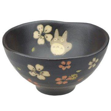 Rice Bowl - Porcelain - Mino Yaki - made in Japan - Totoro & Sakura - Ghibli - 2015 (new)