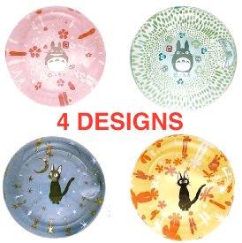 8% OFF - 4 Chopstick Holder - Glass - Kiki's Delivery Service & Totoro - Ghibli - 2015 (new)