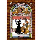 Jigsaw Puzzle -126 pieces - Art Crystal like Stained Glass- Kiki's Delivery Service Ensky 2015 (new)