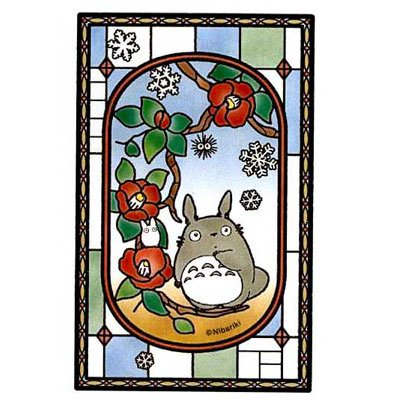 Jigsaw Puzzle - 126 pieces - Clear Color like Stained Glass - Camellia - Totoro - 2015 (new)
