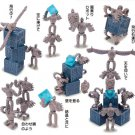 Figure - Build Up Toy - 10 Pieces - Tsumutsumu - Robot - Laputa - Ensky - 2015 (new)