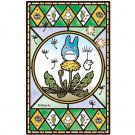 Jigsaw Puzzle - 126 pieces - Art Crystal like Stained Glass - Dandelion- Totoro - Ensky -2015 (new)