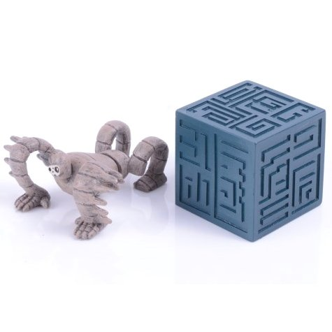 Build Up Toy - Figure - 2 Pieces - Parts B - Tsumutsumu - Robot - Laputa - Ensky - 2015 (new)