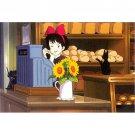 Postcard - Kiki & Jiji - Kiki's Delivery Service - Ghibli - 2015 (new)