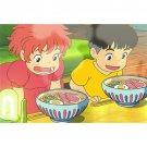 Postcard - Sousuke & Ponyo - Ghibli - 2015 (new)