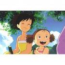 Postcard - Satsuki & Mei - Totoro - Ghibli - 2015 (new)