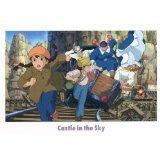Postcard - Pazu & Sheeta - Laputa - Ghibli - 2013 - no production (new)