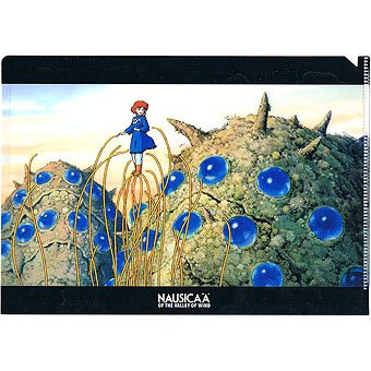 Clear File A5 - 15.5x22cm - Nausicaa & Ohm - Ghibli - 2015 (new)