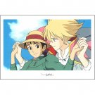 Postcard - Sophie & Howl - Howl's Moving Castle - Ghibli - 2015 (new)