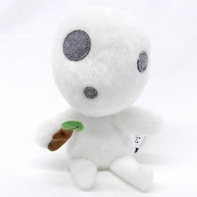 Beanbags / Otedama (M) - H15cm - Fluffy - Kodama - Mononoke - Sun Arrow - 2015 (new)