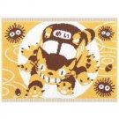 Bath Towel Mat - 35x48cm - yellow - made in Japan - Nekobus - Totoro - Ghibli - 2015 (new)