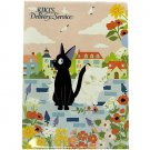 Clear File A4 - pink - made in Japan - Jiji & Lily - Kiki's Delivery Service - Ghibli - 2015 (new)