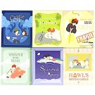 6 Notepad Set - 6 Movies x 80 Page Each - Totoro + Kiki's + Howl's + Laputa - Ghibli - 2015 (new)