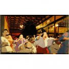 1 left - Bookmarker - Movie Film #13 - 6 Frame - Kaonashi - Spirited Away - Ghibli Museum (new)