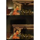 1 left - Bookmarker - Movie Film #25 - 6 Frame - Sen & Kashira - Spirited Away - Ghibli Museum (new)