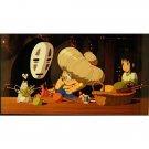 1left- Bookmarker Movie Film#33- 6 Frame- Zeniba Sen Kaonashi Bounezumi - Spirited Away -Museum(new)