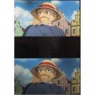 1 left - Bookmarker - Movie Film #16 - 6 Frame - Old Sophie - Howl's Moving - Ghibli Museum (new)