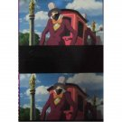 1 left - Bookmarker - Movie Film #19 - 6 Frame - Rubber Man - Howl's Moving - Ghibli Museum (new)