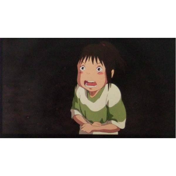 1 left - Bookmarker - Movie Film #42 - 6 Frame - Chihiro - Spirited Away - Ghibli Museum (new)