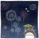3 left - Handkerchief -29x29cm- Gauze - Fireworks- made in Japan - Totoro -2015- no production (new)