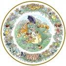 1 left - Yearly Plate 2015 - Wooden Stand - Noritake - made Japan - Totoro Mononoke Spirited (new)