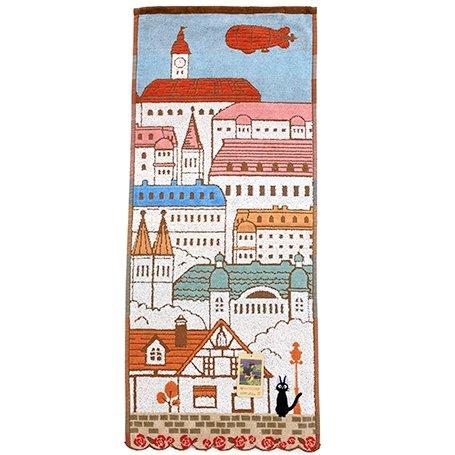 Face Towel - 34x60cm - Koriko Town - Jiji - Kiki's Delivery Service - Ghibli - 2016 (new)