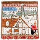 Mini Towel - 25x25cm - Koriko Town - Jiji - Kiki's Delivery Service - Ghibli - 2016 (new)