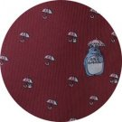 Necktie - Silk - Embroidery - Umbrella - wine - made in Japan - Totoro - Ghibli - 2016 (new)