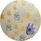 Necktie - Silk - Embroidery - Silhouette - yellow - made in Japan - Totoro - Ghibli - 2016 (new)