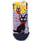 Socks - 23-25cm - Short - Border - navy - Jiji - Kiki's Delivery Service - Ghibli - 2016 (new)