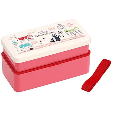 2 Tier Lunch Bento Box - Belt - Koriko - made in Japan - Jiji - Kiki's Delivery Service - 2014 (new)
