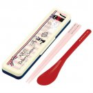 Spoon & Chopsticks in Case - 18cm - Air Mail - made in Japan - Kiki's Delivery Service - 2015 (new)