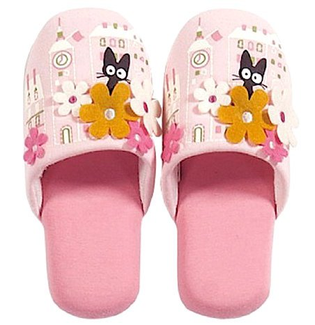Slipper - 20cm - Flower - Jiji - Kiki's Delivery Service - Ghibli - 2015 - no production (new)