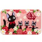 Rug Mat - 50x80cm - Rose - Jiji - Kiki's Delivery Serivice - Ghibli - 2015 - no production (new)