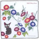 Handkerchief -29x29cm- 2 Layer Gauze -Morning Glory -made Japan - Kiki's Delivery Service 2016 (new)