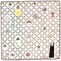 Handkerchief - 29x29cm- 2 Layer Gauze - made Japan - Kaonashi Bounezumi - Spirited Away - 2016 (new)