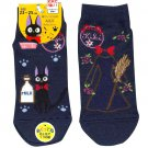 Socks -23-25cm- 2 Different Design - Short navy- Jiji - Kiki's Delivery Service - Ghibli -2016 (new)