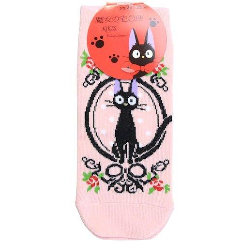 Socks - 23-25cm - short - pink - Jiji - Kiki's Delivery Service - Ghibli -2014- no production (new)