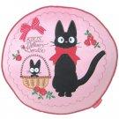 Cushion - 40x40cm- Round - Applique Embroidery - Jiji - Kiki's Delivery Service - Ghibli -2013 (new)