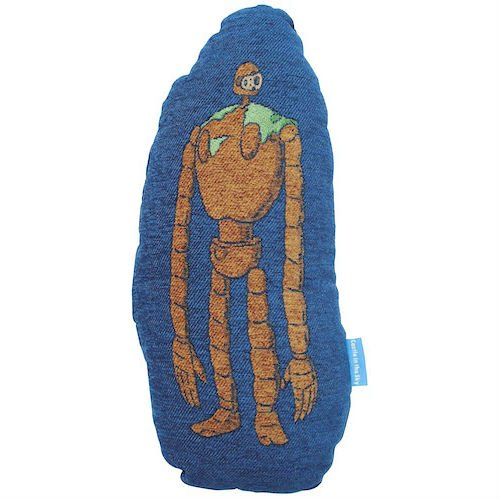 Cushion - 32x65cm - Gobelins Tapestry - Robot - Laputa - Ghibli - 2013 (new)