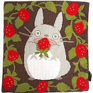 Cushion Cover - 45x45cm - Cross Stitch - Strawberry - Totoro - Ghibli - 2016 (new)