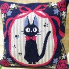Cushion Cover - 45x45cm - Cross-Stitch Embroidery - Jiji - Kiki's Delivery Serivice -2016 (new)