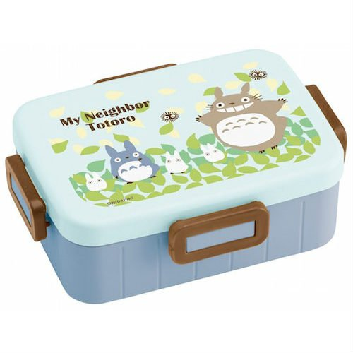 Bento Lunch Box - 650ml - 4 Lock - microwave & dishwasher - made Japan - Totoro - Ghibli -2015 (new)