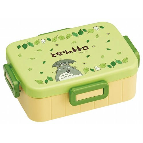Bento Lunch Box - 650ml - 4 Lock - microwave & dishwasher - made Japan - Totoro - Ghibli -2014 (new)
