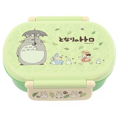 Bento Lunch Box - 360ml - 2 Lock - microwave & dishwasher - made Japan - Totoro - Ghibli -2013 (new)