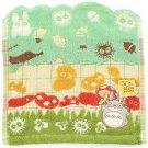 Mini Towel - 25x25cm - Applique & Embroidery - Mushroom - Totoro - Ghibli - 2016 (new)