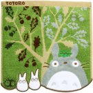Mini Towel - 25x25cm - Fur Applique - Tree - Totoro - Ghibli - 2015 - no production (new)